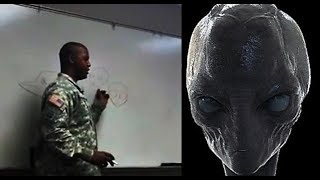 The Pentagon release a video in which a US Army Soldier talks about various Alien races!