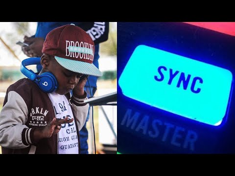 5 Year Old Worlds Youngest DJ Syncing Songs Using Pitch Bend From Songs With Different BPM