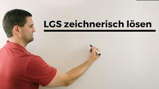 LGS zeichnerisch lösen, allgemeine Lösung, was heißt das? | Mathe by Daniel Jung
