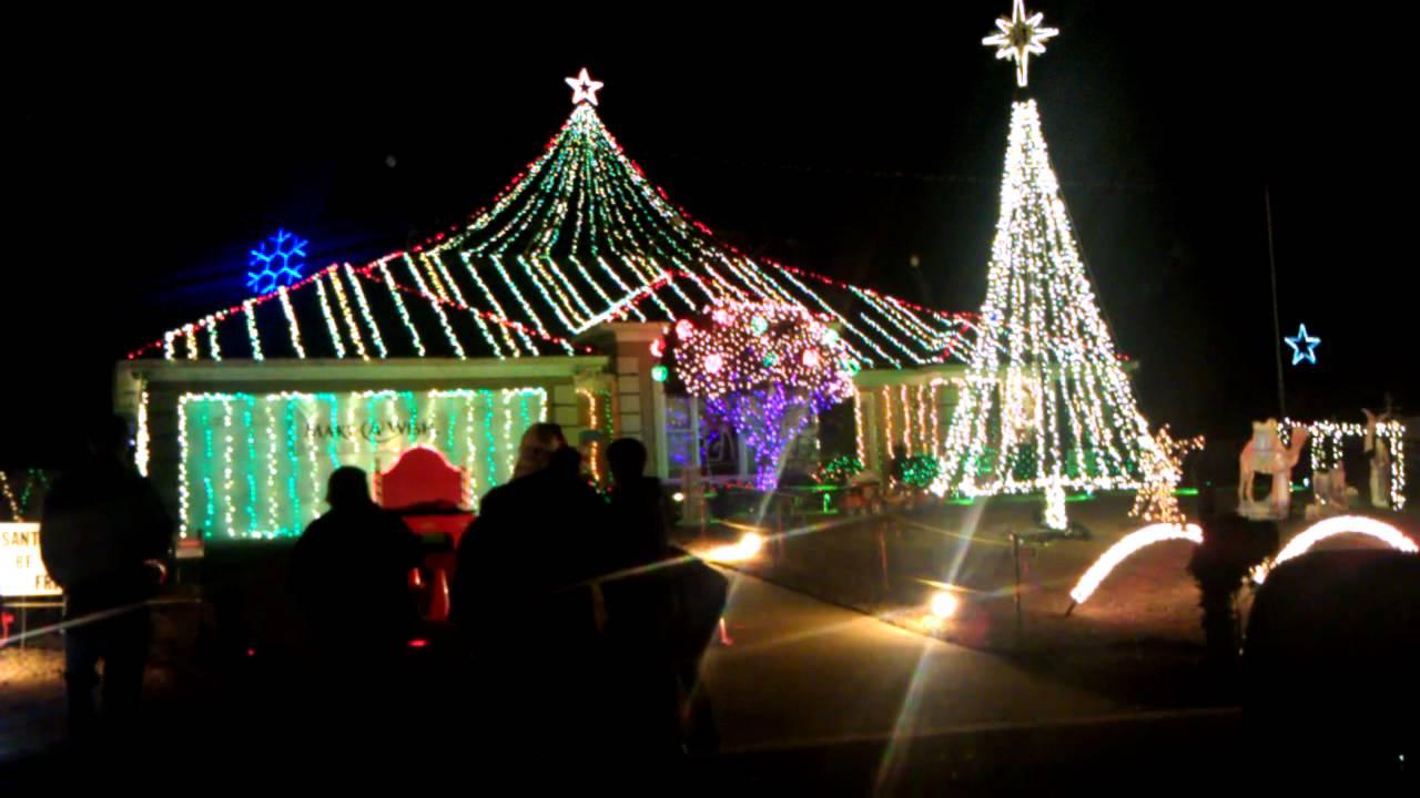 Ludey Christmas Lights in Columbus GA - YouTube