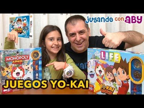 Unboxing JUEGOS DE MESA de YO-KAI. MEDALLAS EXCLUSIVAS. Monopoly Yo-Kai. Life Yo-Kai.