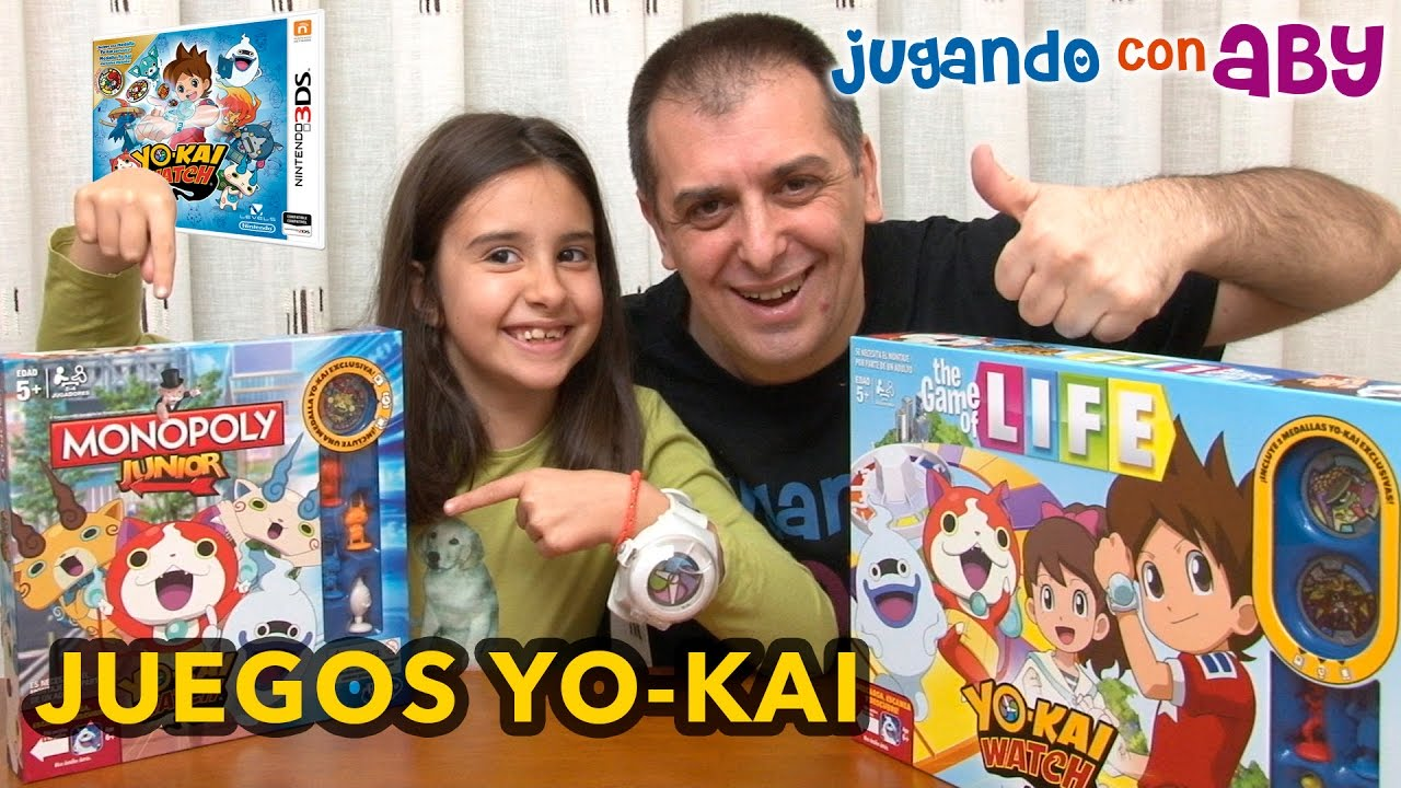 Unboxing Juegos De Mesa De Yo Kai Medallas Exclusivas Monopoly Yo