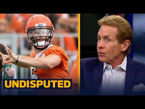 Skip Bayless thinks the Browns are making a mistake by benching Baker Mayfield | NFL | UNDISPUTED