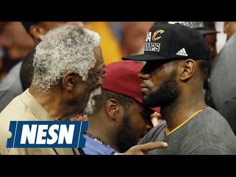 LeBron James Shares Moment With Bill Russell