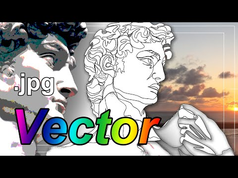 How to turn ANY simple image into a vector