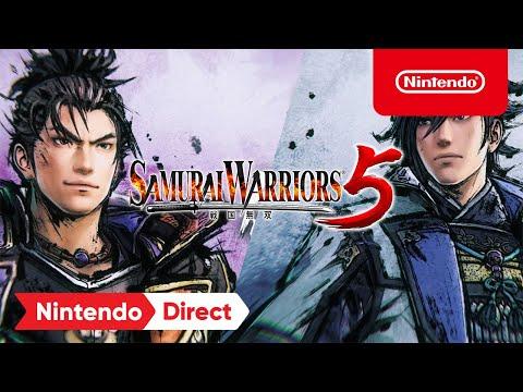 SAMURAI WARRIORS 5 – Announcement Trailer – Nintendo Switch