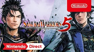 SAMURAI WARRIORS 5 - Announcement Trailer - Nintendo Switch