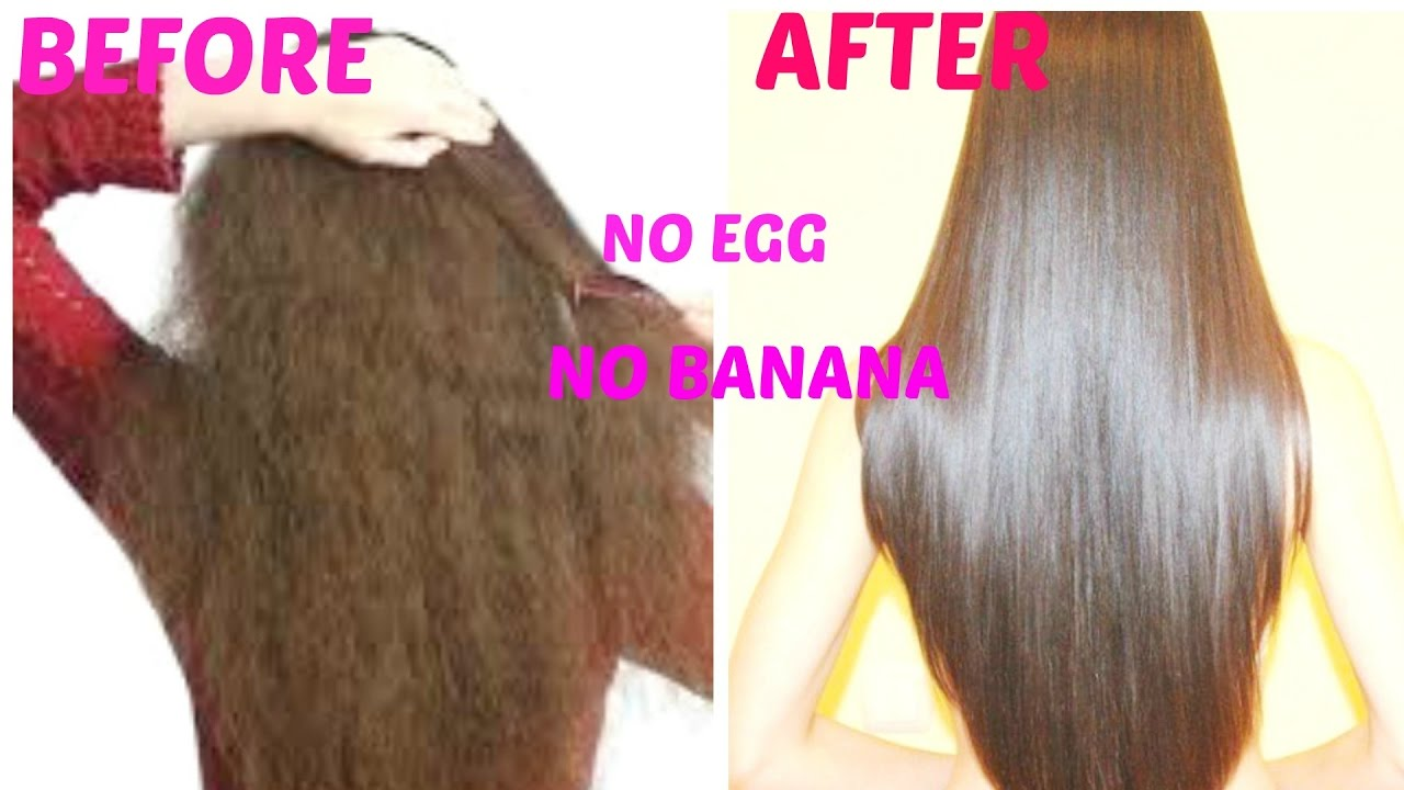 Get Super Silky Glossy Hair In 1 Day Diy Hair Mask Deep
