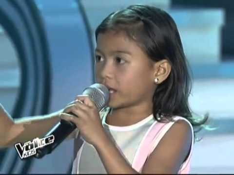 Thevoicekids PH Lyka Edray Darlene sings Let it Go