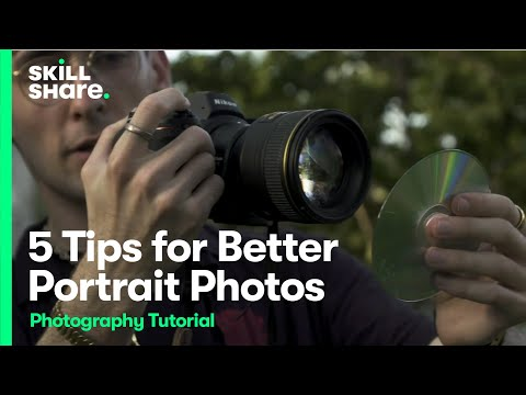 5 Portrait Photography Tips for Better Photos