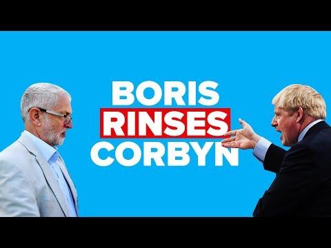 Boris Johnson rinses Corbyn after the Queen's Speech 2019