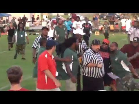Video shows pee wee coach attacking ref