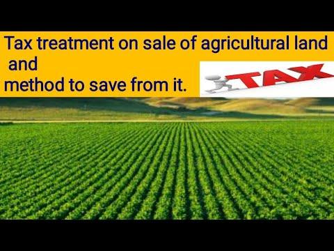 Agricultural land (urban/rural) tax treatment and tax saving technique