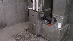 Carrier 92% Efficient Natural Gas Furnace.