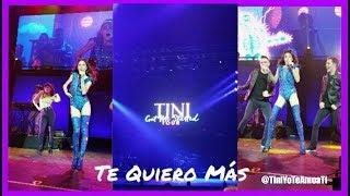 Tini Stoessel , Nacho - Te Quiero Más - Got Me Started Tour 14/10/2017
