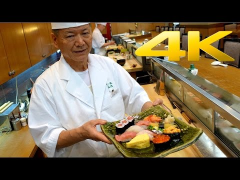 Tokyo Best Sushi / The art of Sushi making - 寿司 - すし - 4K Ultra HD
