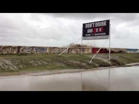 Highest tide recorded in Guyana