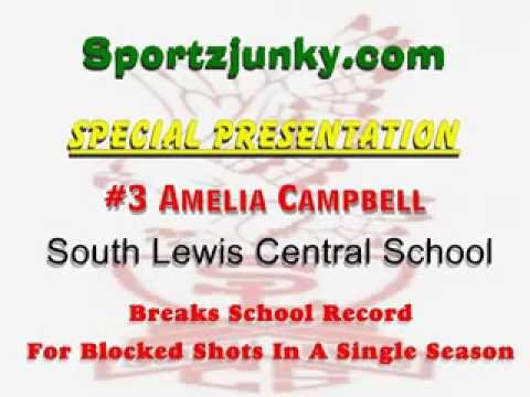 Amelia Campbell Breaks Single Season Record At South Lewis