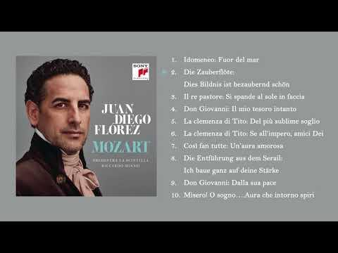 Juan Diego Flórez - Mozart // Album Preview