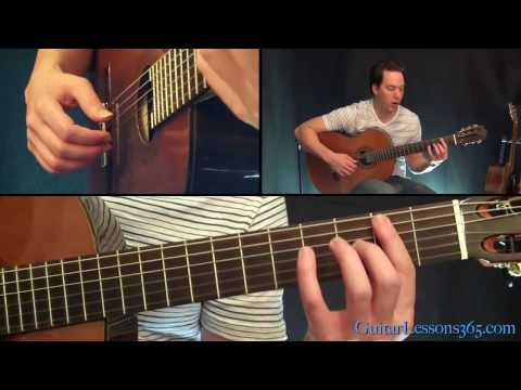 Tears In Heaven Guitar Lesson - Eric Clapton - Acoustic