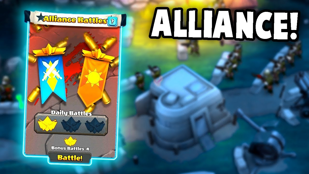 EPIC Alliance Battles!  Best Tactics and Cards to Win! (Guns Up! Multiplayer Gameplay)
