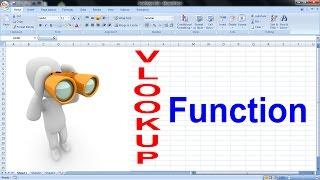 Excel magic trick 10 bangla - VLOOKUP Function