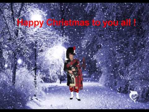 Stille Nacht Silent Night Xmas Carol with Bagpipes