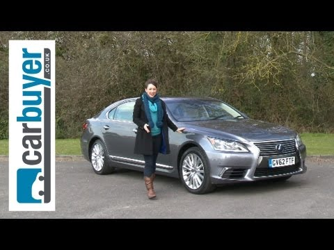 Lexus LS Saloon 2013 review CarBuyer