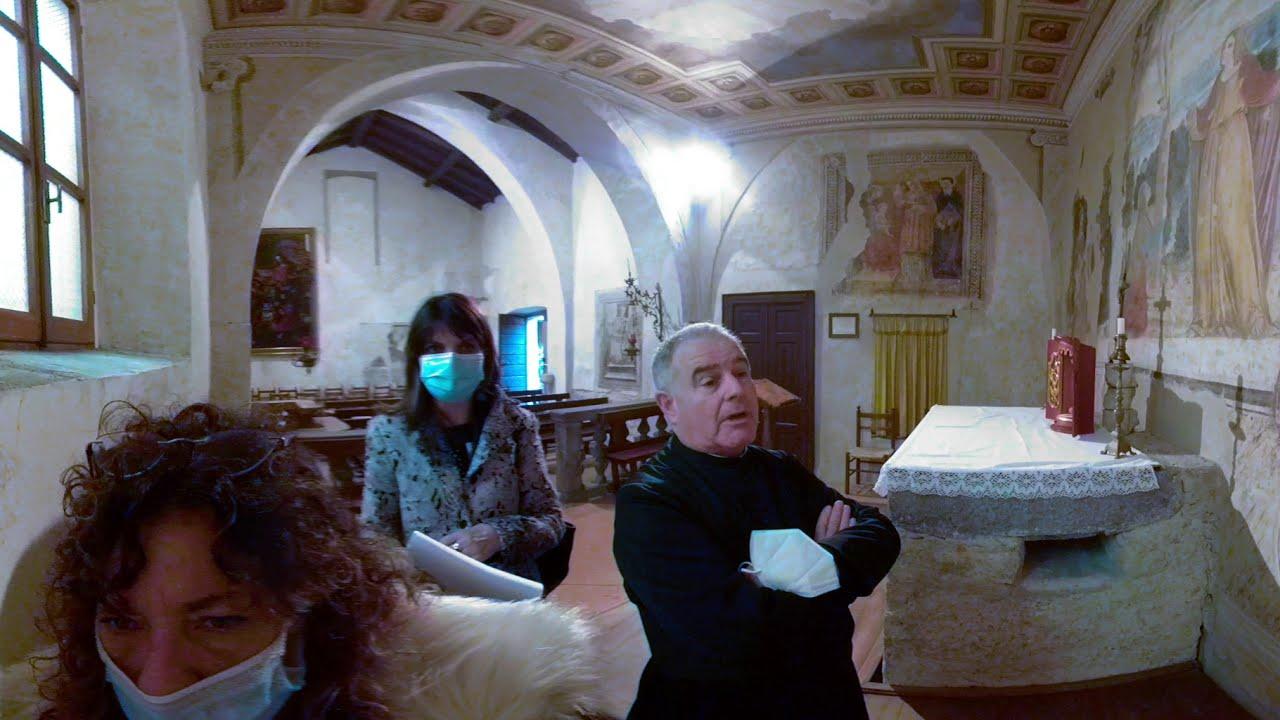 NOI SIAMO QUI!! Video Guida 360°| Chiesa di San Pietro - Buccinigo | - FREE- pt.2