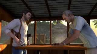 Uncharted: Натан Дрейк. Коллекция (Судьба Дрейка - Начало игры) HD [1080p] (PS4)