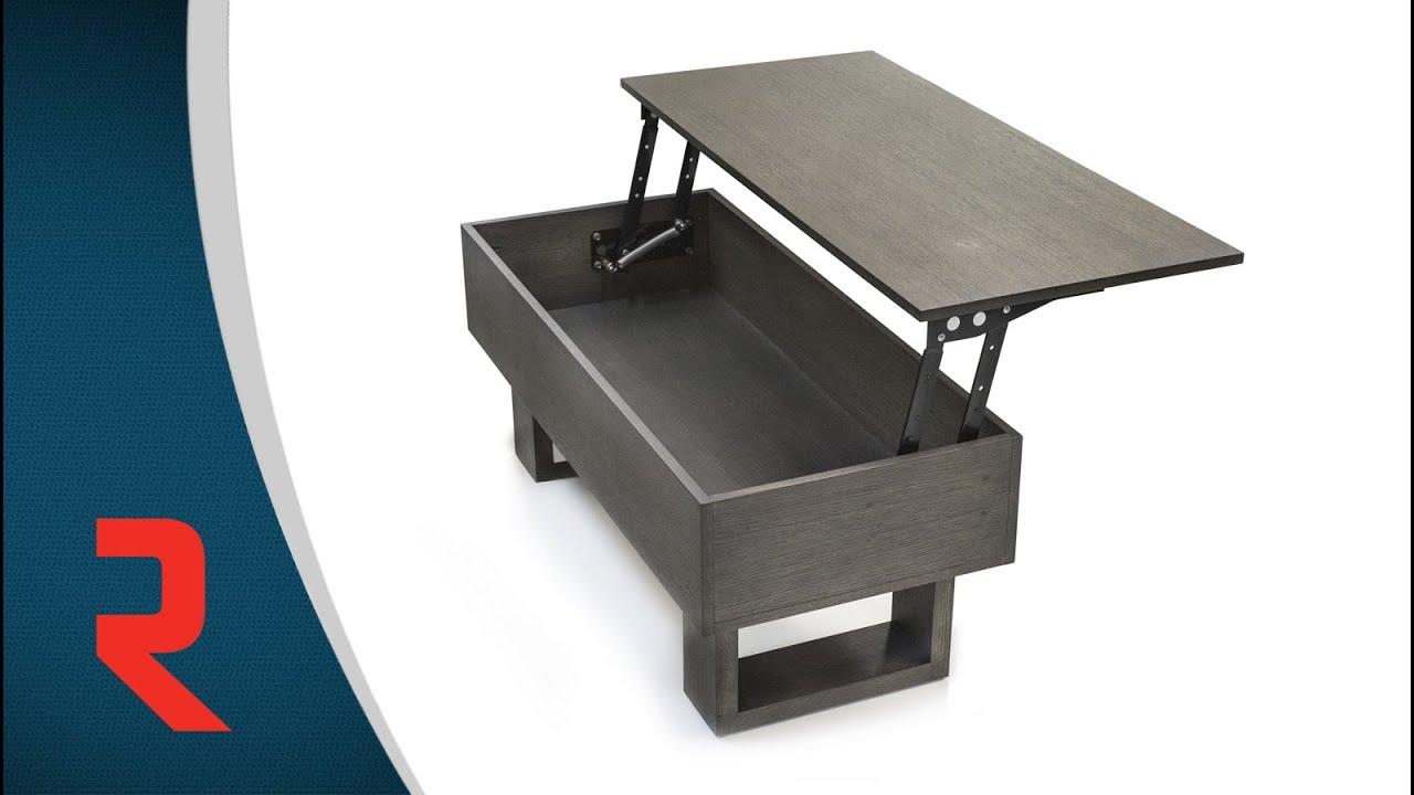 m canisme pour table plateau relevable youtube. Black Bedroom Furniture Sets. Home Design Ideas