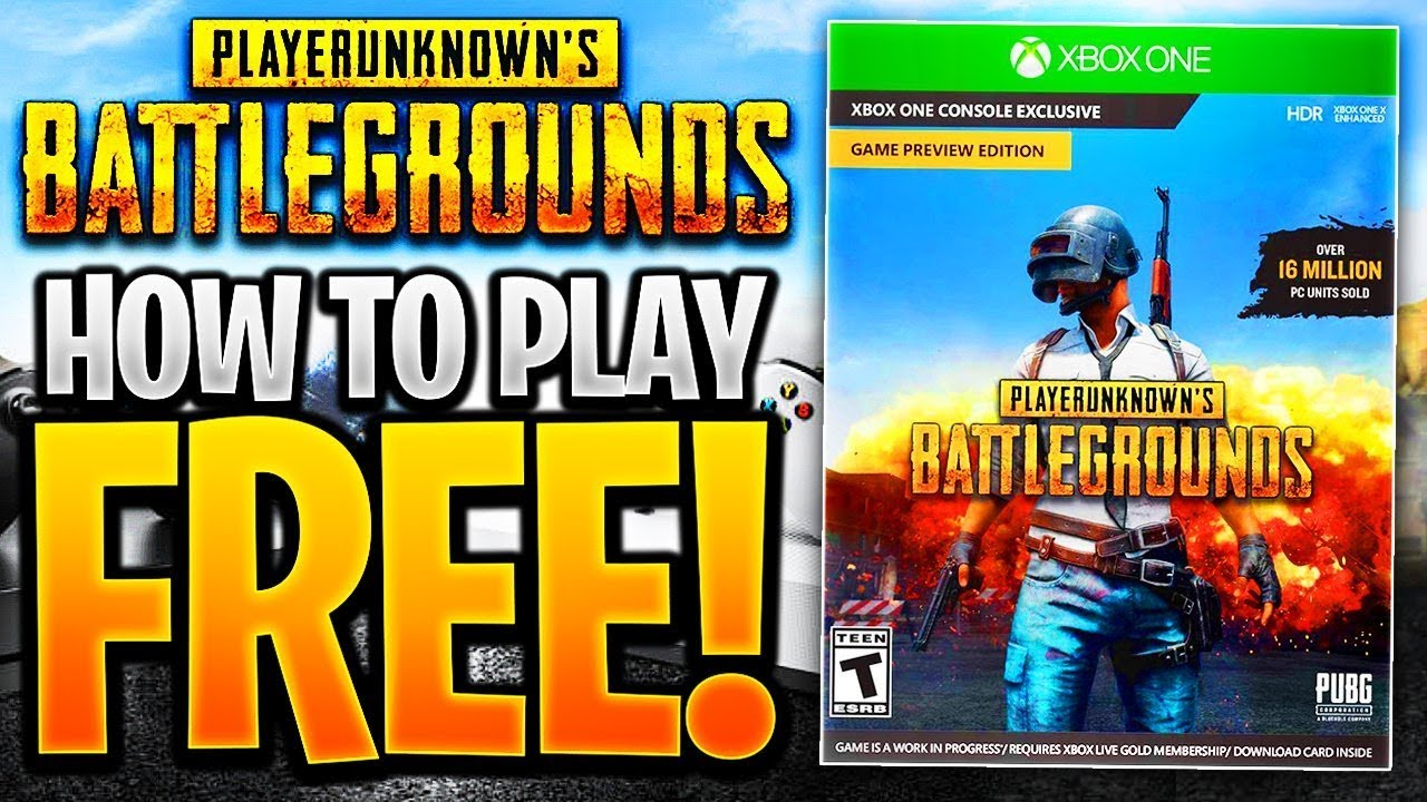 How To Get Pubg For Free How To Play Pubg Free Download Pubg Xbox
