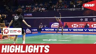 VICTOR China Open 2019 | Quartefinals WS Highlights | BWF 2019