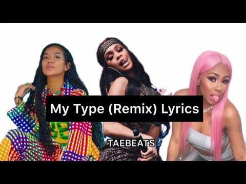 Saweetie- My Type [Remix] ft. Jhené Aiko & City Girls (Lyrics)