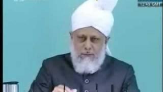 Проповедь Хазрата Мирзы Масрура Ахмада, (21-05-10) часть 5