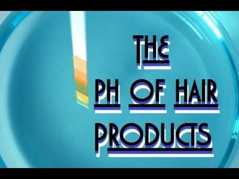 20 popular brands and the ph level of their hair products
