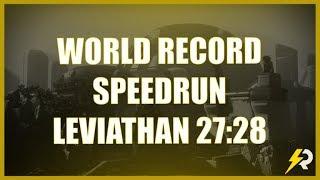 FERAL BLOOD WORLD RECORD SPEEDRUN THE LEVIATHAN 27:28min