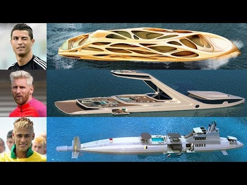 Top 5 Most Expensive & Luxurious Yacht Owned By Footballers ★ 2018