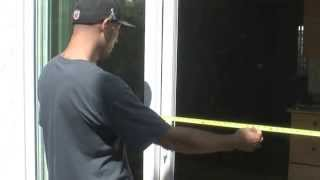 How To Measure For A Sliding Screen Door |bull's Glass And Screen|