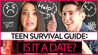 Is it a Date? | Teen Survival Guide w/ The Merrell Twins