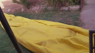 Bizarre object ends up in New Mexico backyard after storm
