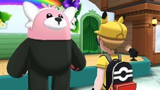 Bewear Cosplay Show Event | Pokemon Ultra Sun and Moon Side Quest Easter Egg