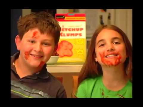 Tommy Snider  KETCHUP KLUMPS Breakfast Cereal Commercial