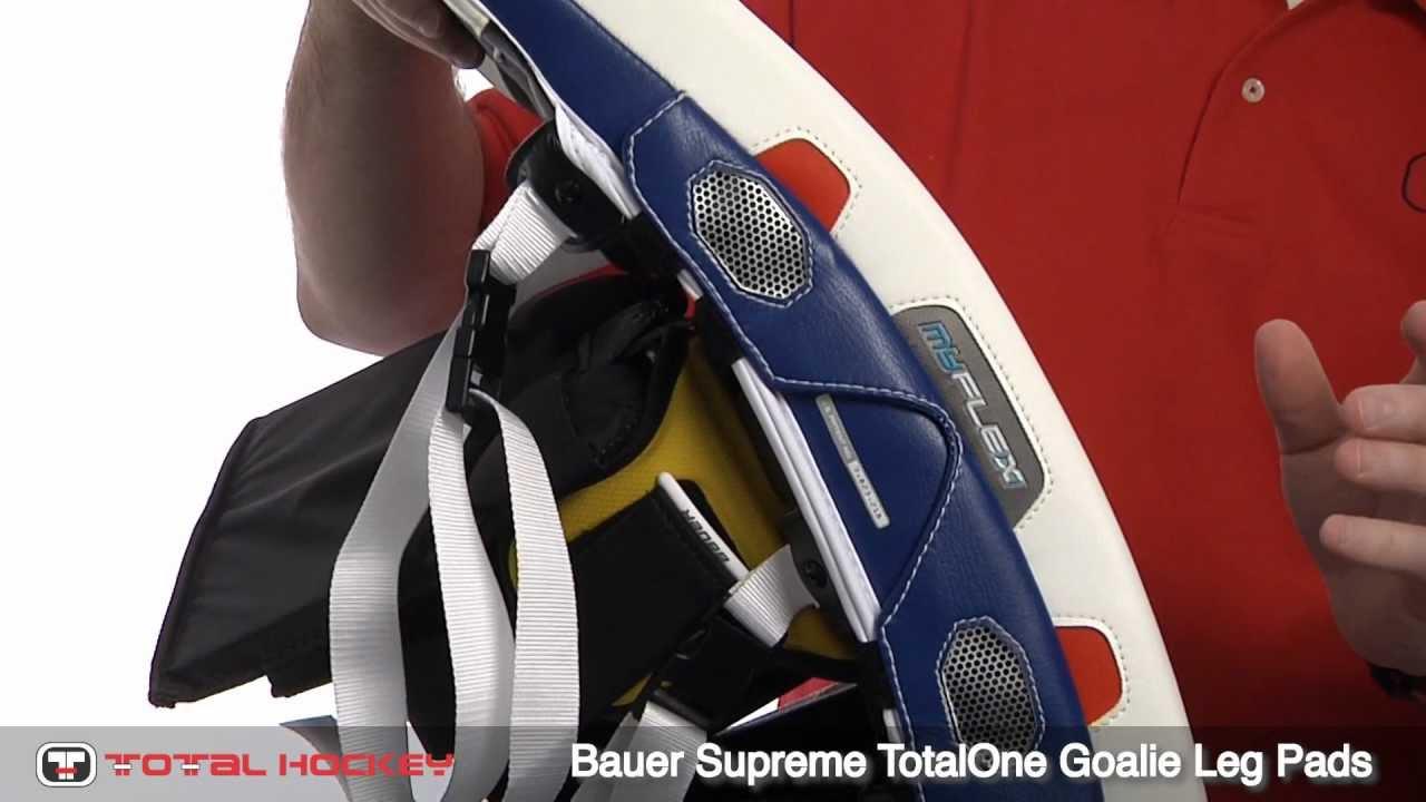 Bauer Supreme TotalOne Goalie Leg Pads