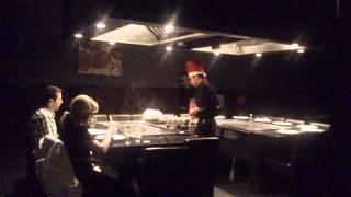 Hibachi chef Ithaca