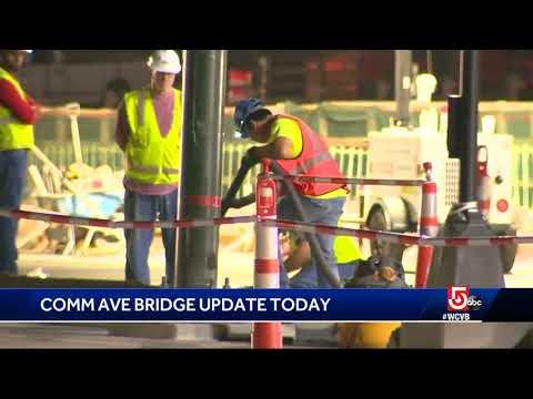 Comm Ave Bridge project set to begin
