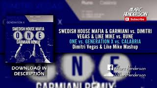 One (Hardstyle Remix) vs. Generation X vs. Calabria (DV&LM 'Back To Tomorrowland' BTM 2017 Mashup)