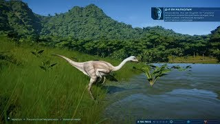 Создай свой парк Юрского периода! - Jurassic World Evolution #01
