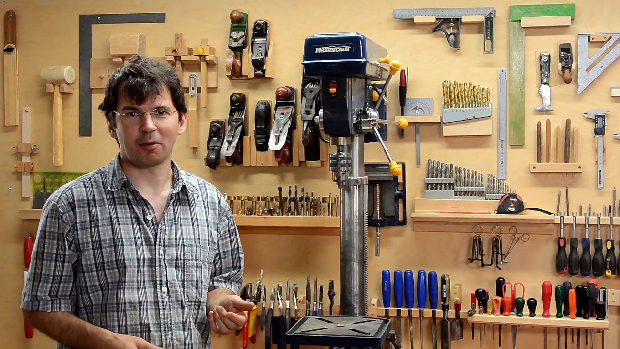 Swapping the workbench and tool wall  YouTube