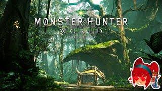 Monster Hunter World - Nuevo gameplay en el Bosque Antiguo [SUBS/ESP]